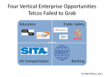Four Vertical Enterprise Opportunities