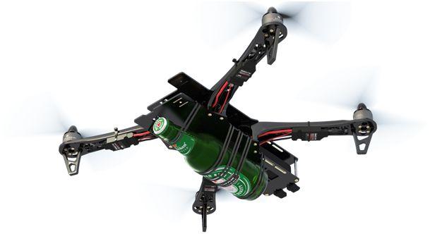 Heineken drone